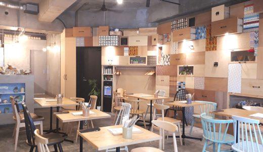 八丁堀|「TRUNK CAFE」おしゃれ空間でまだ出会ったことない多国籍料理を