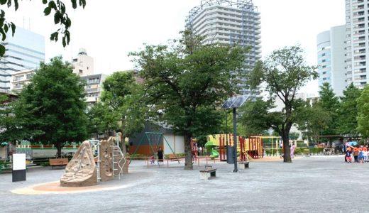 月島第二児童公園|使い勝手抜群!じゃぶじゃぶ池やイベントも親子で大満足
