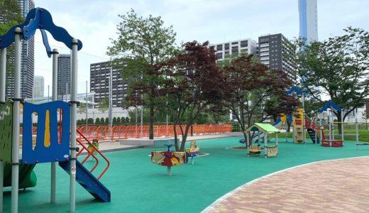 豊海運動公園|幼児にも優しくリニューアル!デイキャンプもできる複合公園