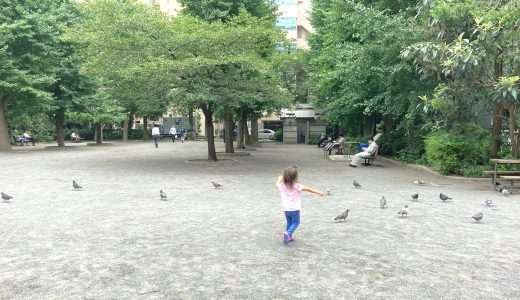 堀留児童公園|人形町で広さが自慢。町会イベントも盛んな子どもに優しい公園