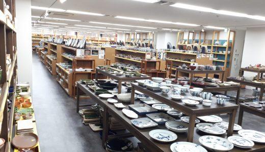 築地|創業100年超の老舗「うりきり屋」面積も品揃えも築地一の食器専門店