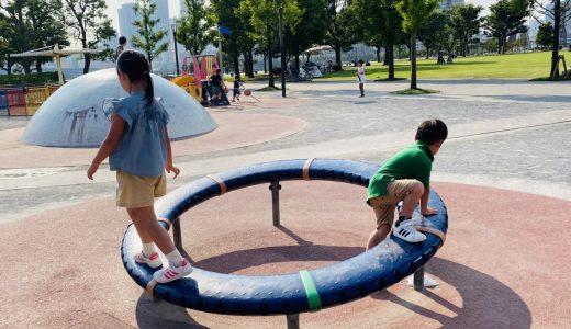 豊洲公園|珍しい遊具で創造力も体力も育てる!ららぽ隣接の頼れる公園