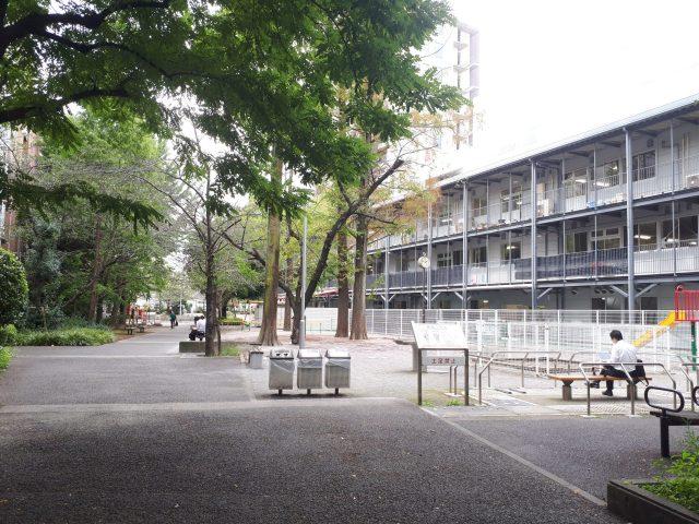 桜川公園_ベンチ