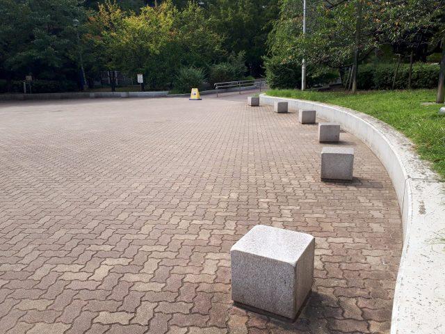 あかつき公園ベンチ