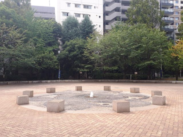 あかつき公園噴水