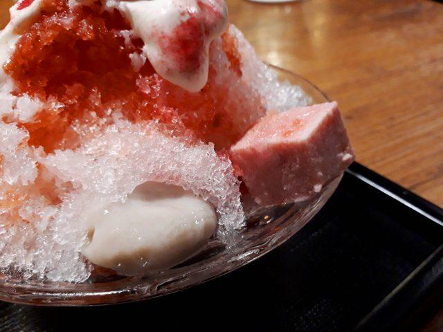 鶏鬨新川店かき氷