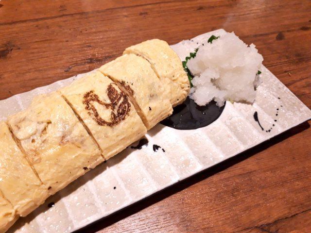 鶏鬨新川店出し巻玉子