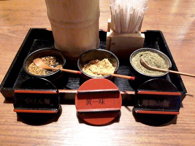 鶏鬨新川店調味料