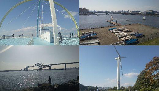 新木場|風車や東京ゲートブリッジも目の前!潮風感じるサイクリング!