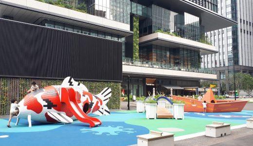 大手町|東京駅前の新街区がアツイ!「TOKYO TORCH Park」はアートな遊具が子どもを魅了